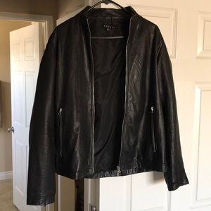 Theory Men's Kellerherm Leather Jacket